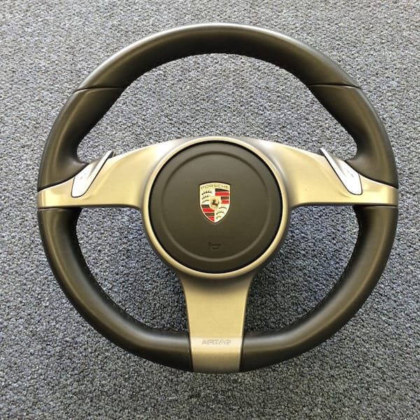 Porsche Cayman Steering Wheel