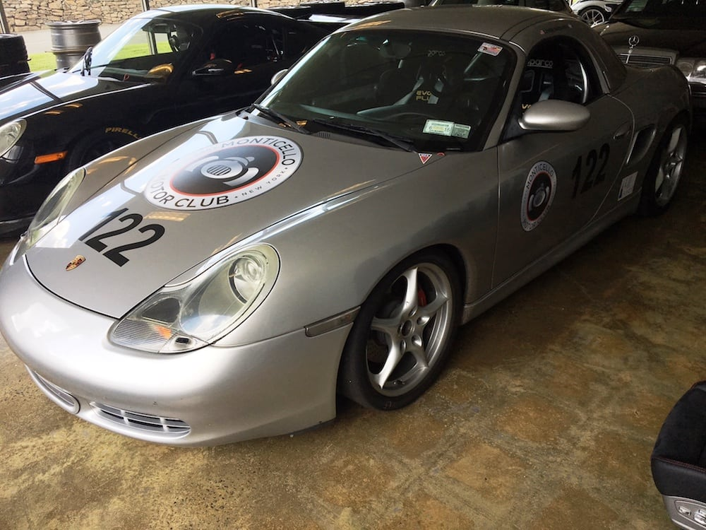 2000 Silver Porsche Boxster S Racecar for sale at DeMan Motorsport