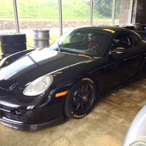 2006 Black Porsche Cayman S for sale at DeMan Motorsport
