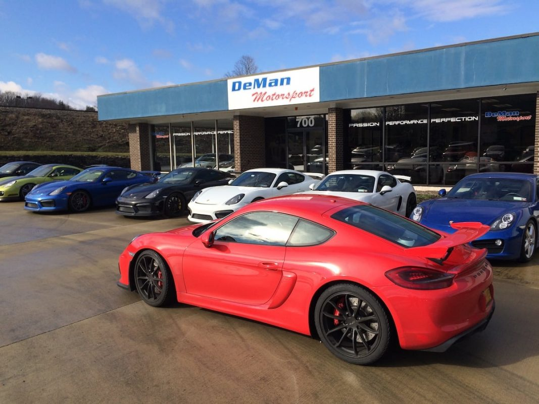 Porsche Cayman gt4 upgrades