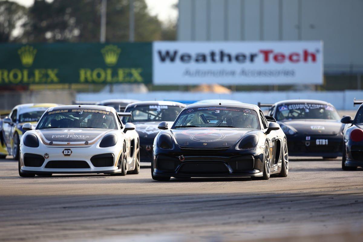 DeMan Motorsport Cayman GT4R