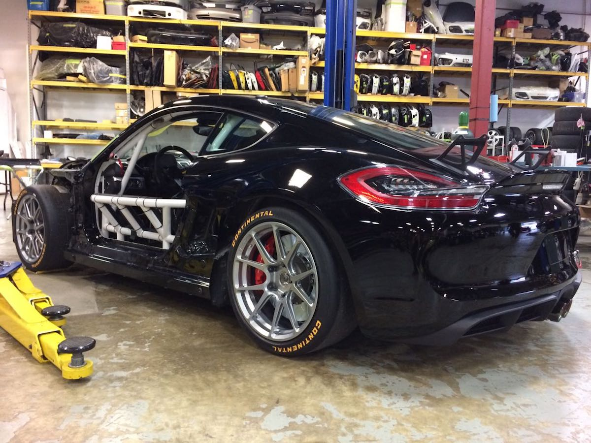 DeMan Motorsport Cayman GT4R Build