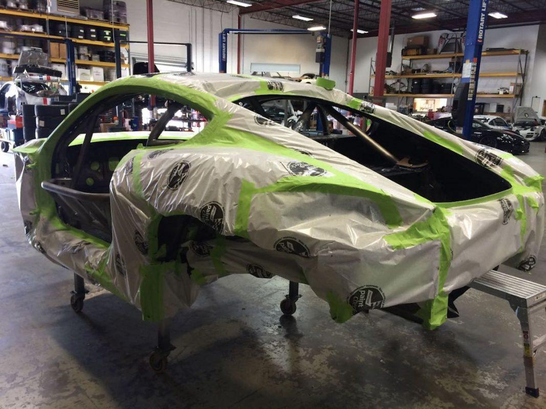 DeMan Motorsport Cayman GT4R Build