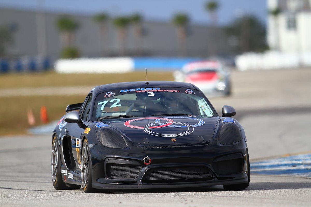 DeMan Motorsport GT4R Porsche Club Racing