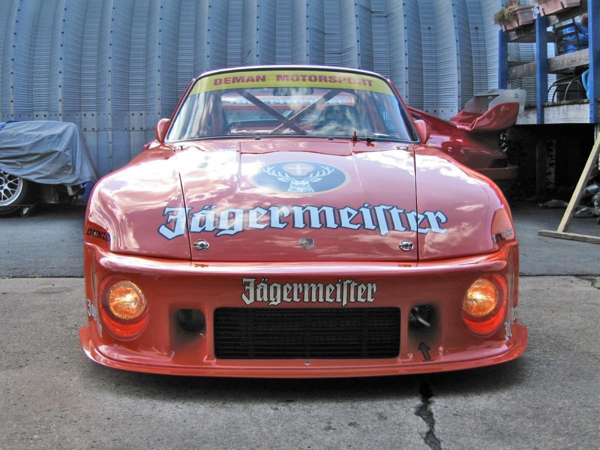 Jagermeister Porsche 935 Race Car