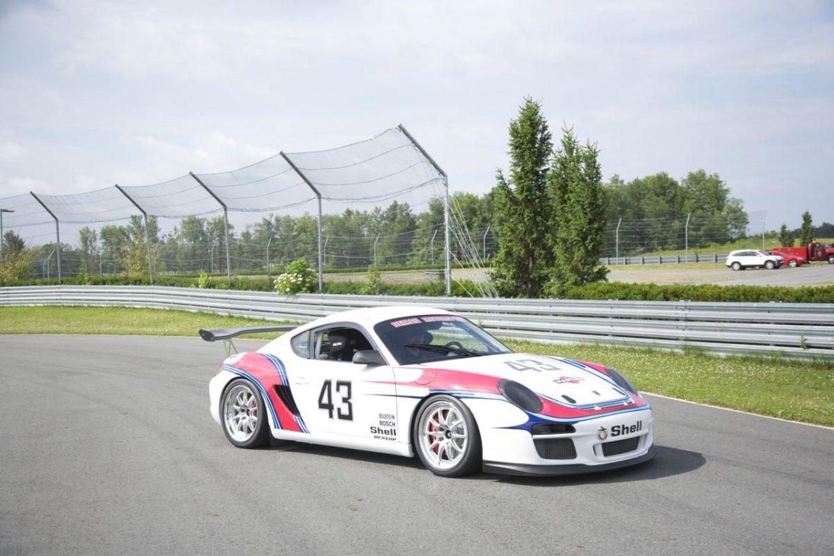 Martini Porsche 987 Cayman