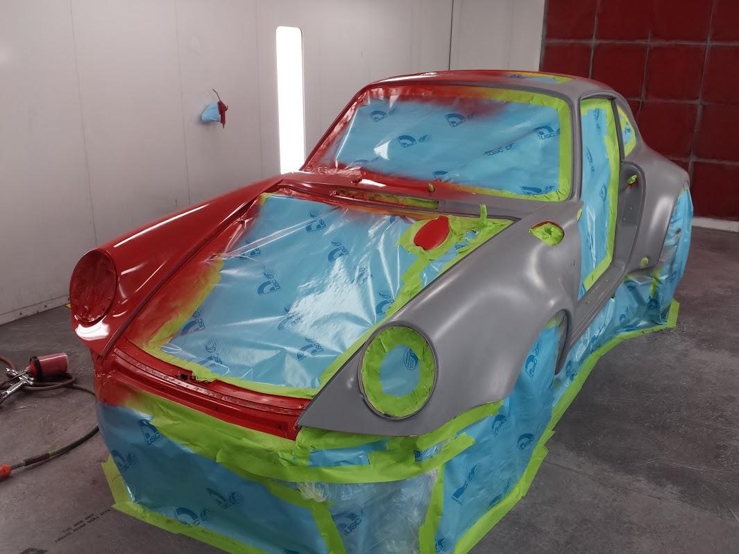 Porsche 930 Restoration