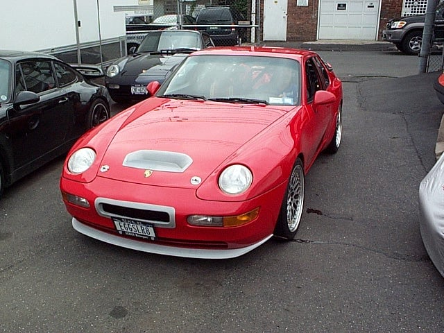 Porsche 968 Turbo Build
