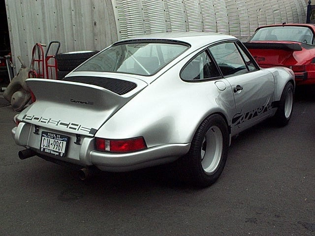 Porsche Carrera RS Build