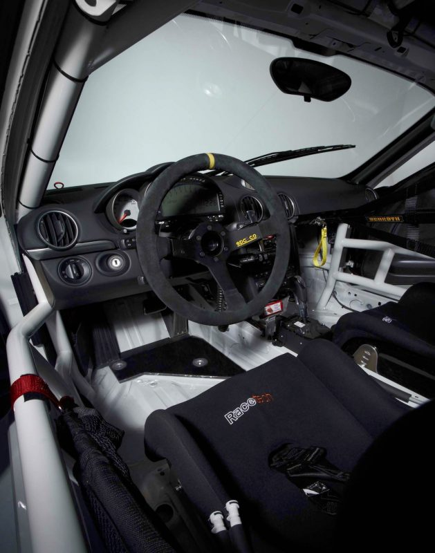 Porsche Cayman RSR Build DeMan Motorsport