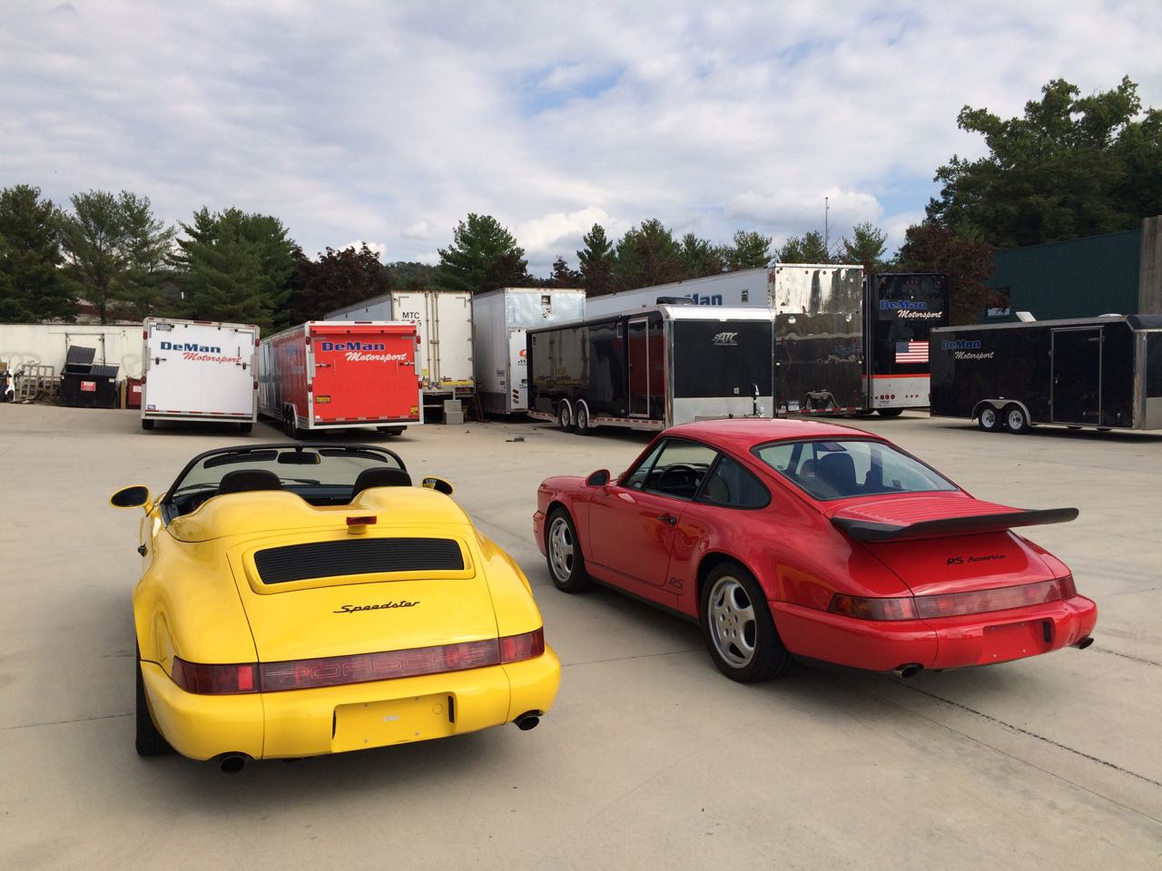 Porsche Speedster - RS America