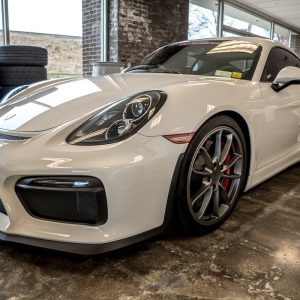 2016 Porsche GT4 White for sale