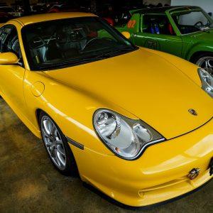 2004 PORSCHE 911 GT3-Yellow-3