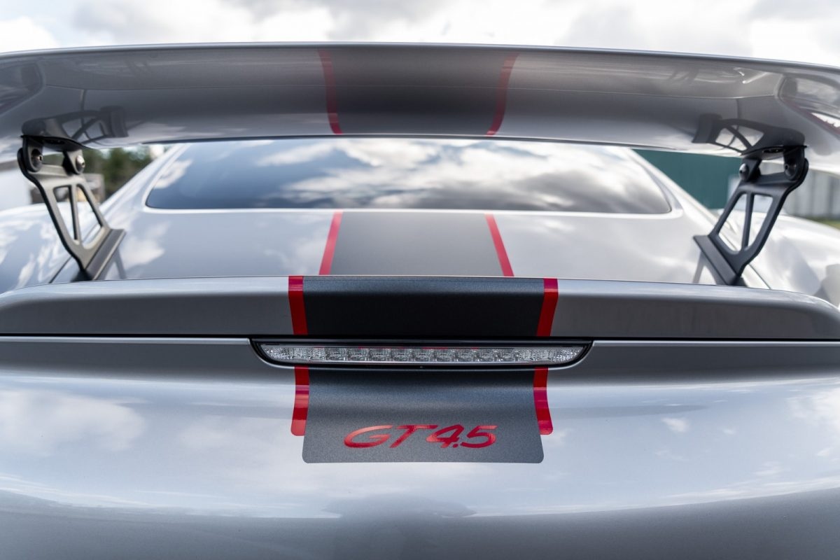 4.5L Porsche GT4