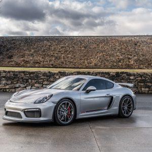 4.5L Porsche GT4 For Sale Silver.Red-2