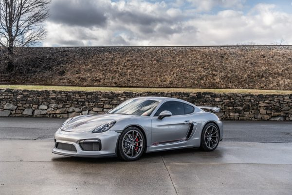 4.5L Porsche GT4 For Sale Silver.Red-2