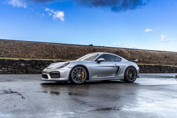 4.5L Porsche GT4 For Sale Silver.Yellow-1