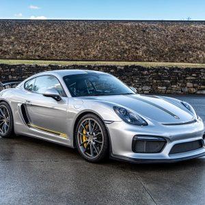 4.5L Porsche GT4 For Sale Silver.Yellow-4