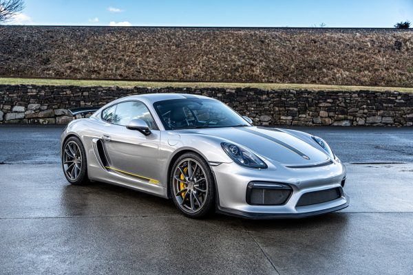 4.5L Porsche GT4 For Sale Silver.Yellow-4