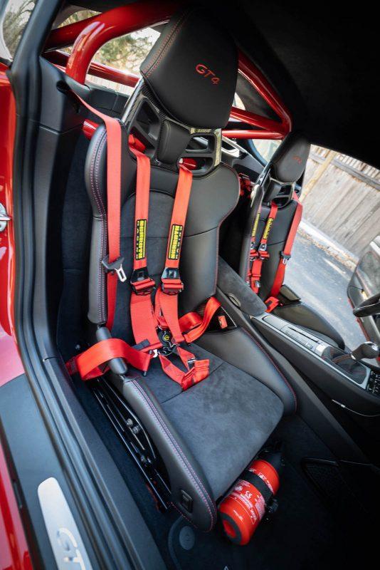 Half Cage for Porsche Cayman at DeMan Motorsport 9