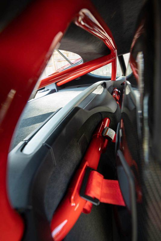 Roll Bar and Harness Bar for Porsche Cayman