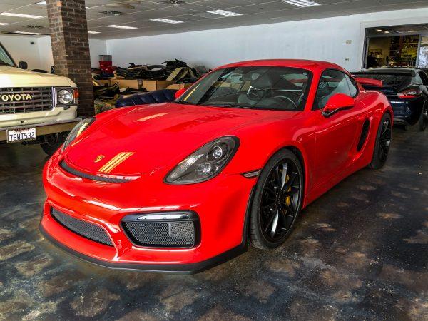Low Mileage 2016 Porsche Cayman GT4 for sale_5