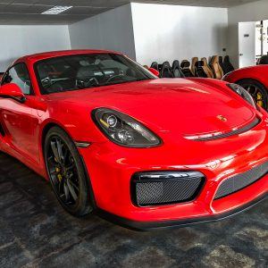 Low Mileage 2016 Porsche Cayman GT4 for sale_main img