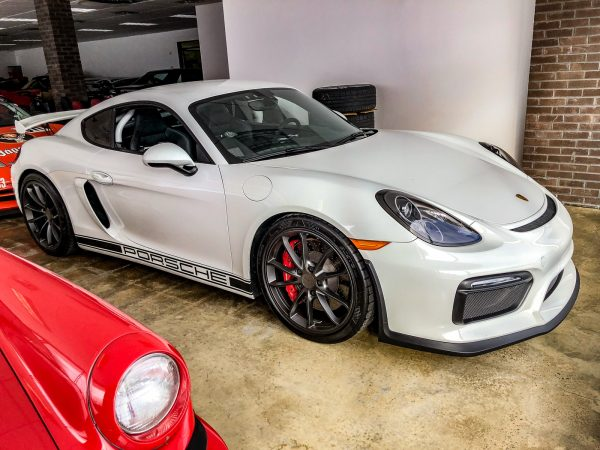 White 2016 Porsche GT4 for sale-3